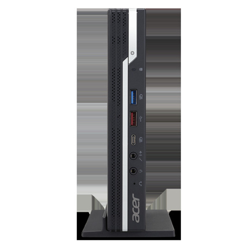 ACER Veriton N4660G i3-8100T 4GB DDR4 500GB/7200 Intel HD WiFi+BT, VESA-kit, USB KB&Mouse Win 10Pro 3y carry in