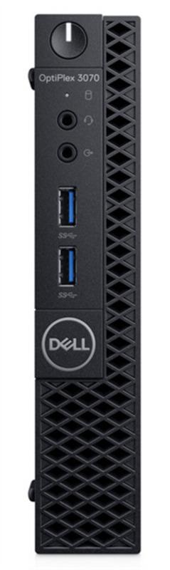 Dell Optiplex 3070 Micro Core i3-9100T (3,1GHz) 8GB (1x8GB) DDR4 256GB SSD Intel UHD 630 TPM, VGA Linux 1 years NBD