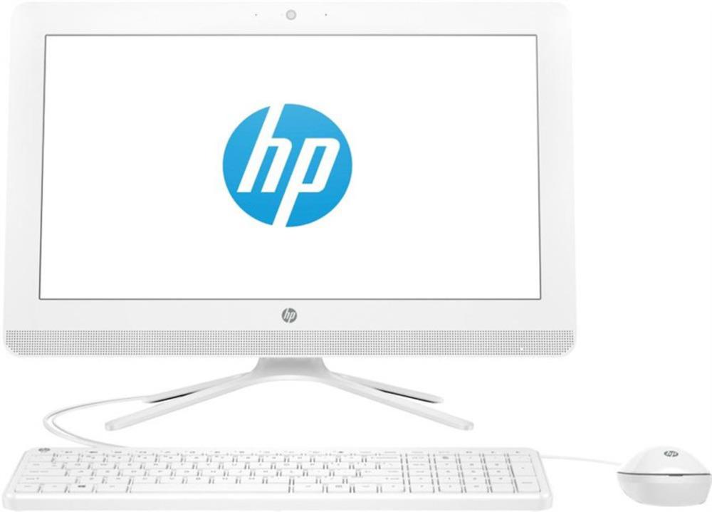 "HP 20-c433ur NT 19,5"" (1920x1080) Intel Core i3-7130U, 8GB DDR4-2133 SODIMM (1x8GB), 1Tb, Intel HD Graphics 600, noDVD, USB kbd&mouse, VGA webcam, Snow White, FreeDOS, 1Y Wty"