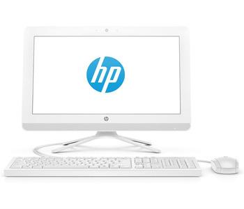 "HP 20-c430ur NT 19,5"" (1920x1080) AMD A4-9125, 4GB DDR4-2133 SODIMM (1x4GB), 500GB, AMD Radeon™ R3 Series, noDVD, USB kbd&mouse, VGA webcam, Snow White, DOS, 1Y Wty"