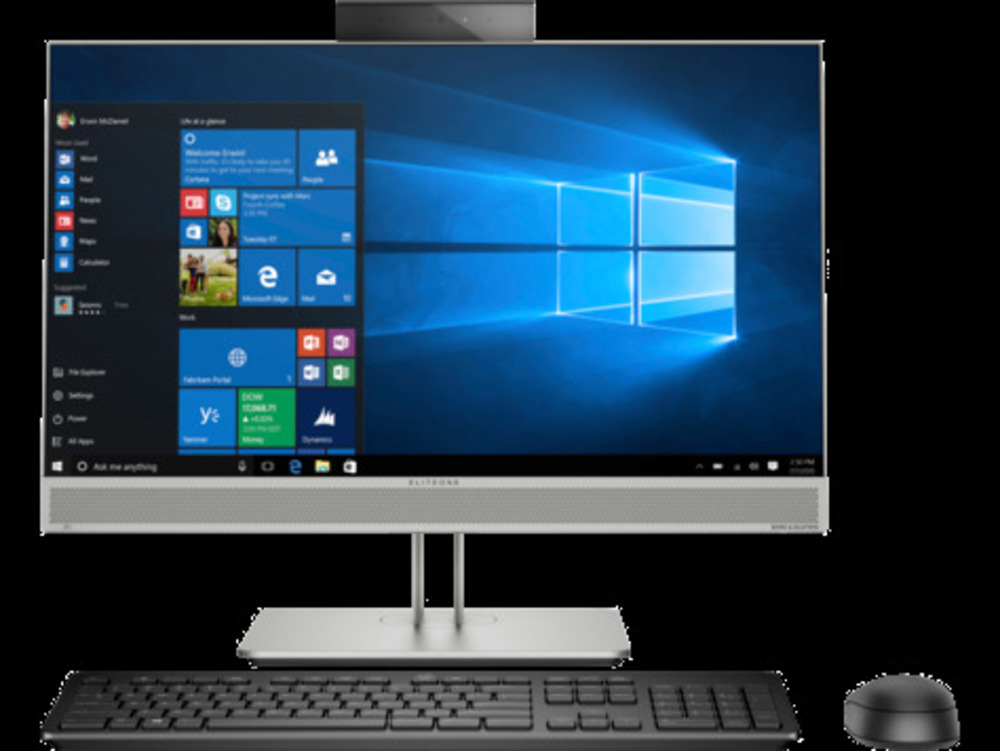 """HP EliteOne 800 G5 All-in-One 23,8""""Touch(1920x1080),Core i7-9700,32GB,1TB M.2,DVD,Wireless kbd&mouse,Stand,Intel AX200 ax 2x2 Vpro BT5,WLAN I 22,Win10Pro(64-bit),3-3-3 Wty"""