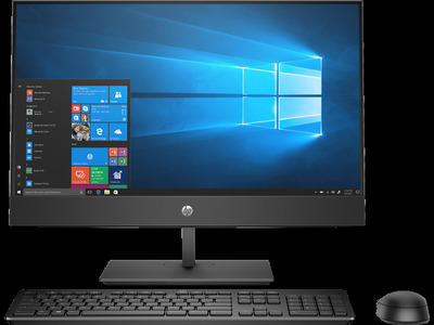 """HP ProOne 400 G5 All-in-One NT 20""""(1600x900) Core i5-9500T,4GB,1TB,DVD,Slim kbd/mouse,Fixed Stand,Intel 9560 AC 2x2 BT,HD Webcam,HDMI Port,FreeDOS,1-1-1 Wty"""