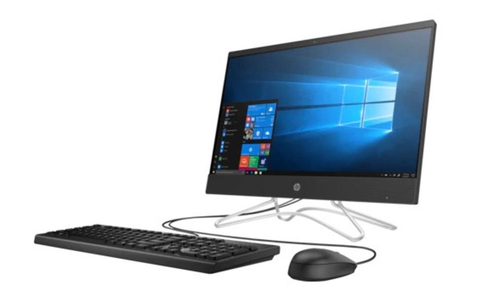 """HP 200 G3 All-in-One NT 21,5""""(1920 x 1080) Core i3-8130u,4GB,1TB+128GB SSD,DVD-WR,kbd USBmouse,Realtek AC 1x1 WW with 1 Antenna,Jet Black Plastic,FreeDOS,1-1-1 Wty"""