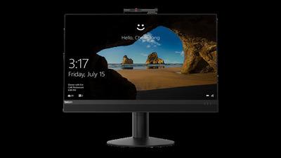"Lenovo M920z AIO 23.8"" FHD IPS No Touch Pentium G5400 4GB DDR4 500GB HDD 2.5""; 7200RPM WiFi 3165 Cam&MIC DVD-RW Win 10 Pro 64 RUS"