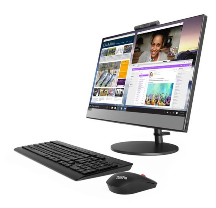 "Lenovo V530-22ICB All-In-One 21,5"" Pen G5400T, 4GB DDR4, 128GB SSD, Intel HD, DVD±RW, AC+BT, USB KB&Mouse, Win 10Pro, 1YR OnSite"