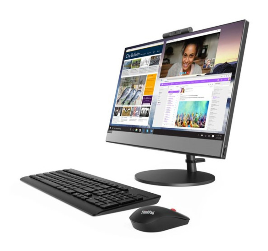 """Lenovo V530-24ICB All-In-One 23,8"""" i7-8700T 8Gb 512GB SSD M.2 Int. DVD±RW AC+BT USB KB&Mouse Win 10 Pro64-RUS 1YR Carry-in"""