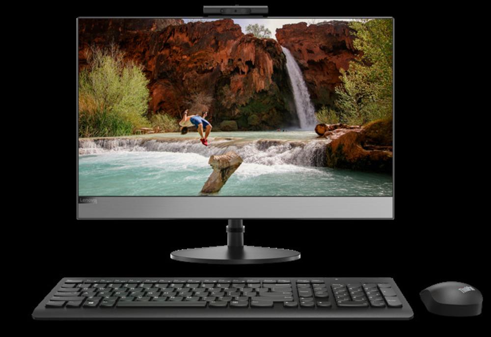 """Lenovo V530-24ICB All-In-One 23,8"""" FHD(1920x1080) AG Non touch, i3-9100T, 8GB, 256GB_M.2, Intel UHD 630, SlimDVD, WiFi, BT, KB&Mouse, noOS, 1Y OS"""