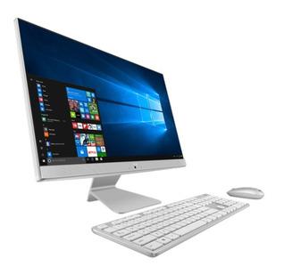 "Моноблок ASUS V241FAK-WA083T Intel i5-8265U/8Gb/1Tb HDD+128Gb SSD/23,8"" FHD non-touch non-Glare/Zen Plastic Golden Wired Keyboard+ Wireless Mouse/Windows 10 Home/WHITE"