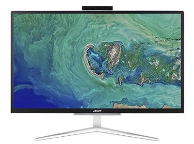 """ACER Aspire C22-865 All-In-One 21,5"""" FHD(1920x1080), i5 8250U, 8GbDDR4, 256GB SSD, Intel HD, noDVD-RW, WiFi+BT,USB KB&Mouse, silver, Win10Pro 1Y carry-in"""