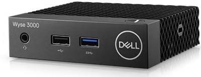 Dell Wyse 3040 (1.44)/2Gb/Flash: 16Gb/ThinOs/GbitEth/24W/3Y ProSupport/NO mouse/ NO keyboard/черный