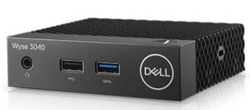 Dell Wyse 3040 (1.44)/2Gb/Flash: 16Gb/ThinOs/WiFi/GbitEth/24W/3Y ProSupport/NO mouse/ NO keyboard/черный