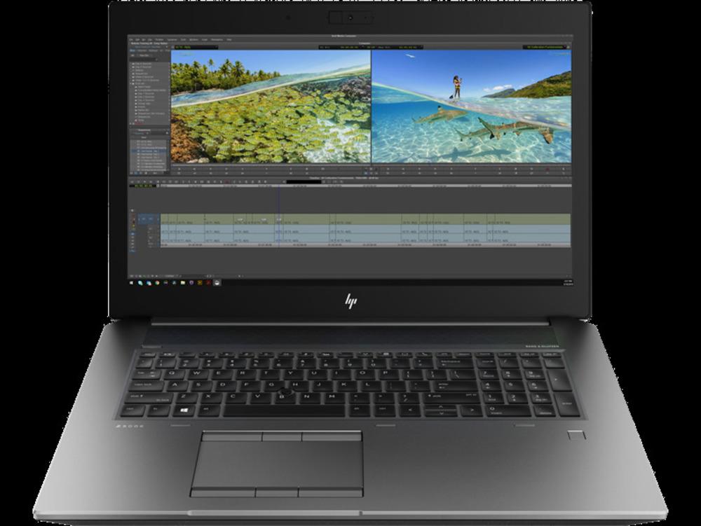 "HP ZBook 17 G6 Core i7-9750H 2.6GHz,17.3"" FHD (1920x1080) IPS ALS AG,nVidia Quadro T1000 4Gb GDDR6,8Gb DDR4-2666(1),256Gb SSD,96Wh,FPR,vPro,3.2kg,3y,Silver,Win10Pro"