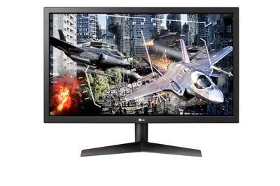 """LG 23.6"""" 24GL600F-B IPS LED, 1920x1080, Gaming, 1ms, 300cd/m2, 1000:1 (Mega DCR), 170°/160°, 2*HDMI, DisplayPort, Tilt, 144Hz, FreeSync, VESA, Black"""
