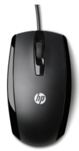 Mouse HP Wired Mouse X500 (Black) cons