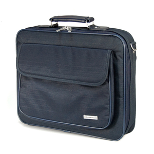 Компьютерная сумка Continent (16) CC-03 Navy, цвет тёмно-синий.