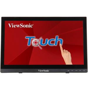 "Viewsonic 15.6"" TD1630-3 Touch LED, 1366x768, 12ms, 220-190cd/m2, 10Mln:1, 90°/60°, VGA, HDMI, USB, колонки, Tilt, VESA(75x75), Black"
