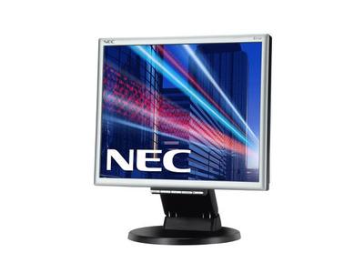 """NEC 17"""" E171M-BK LCD Bk/Bk ( TN; 5:4; 250cd/m2; 1000:1; 5ms; 1280x1024; 170/170; D-Sub; DVI-D; HAS 50 mm; Tilt; Spk 2*1W)"""