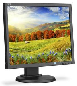 """NEC 19"""" EA193Mi-BK LCD Bk/Bk ( IPS; 5:4; 250cd/m2; 1000:1; 6ms; 1280x1024; 178/178; D-Sub; DVI-D; DP; HAS 110mm; Swiv 45/45; Tilt; Pivot; Spk 1+1W)"""