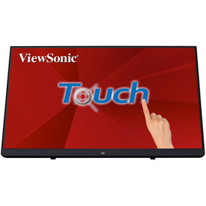 "Viewsonic 21.5"" TD2230 Touch IPS LED, 1920x1080, 5ms, 250cd/m2, 50Mln:1, 178°/178°, VGA, HDMI, DP, USB*2, колонки, Tilt, VESA(100x100), Black"