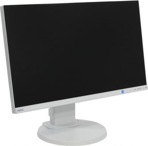 NEC 22'' E221N LCD S/Wh (IPS; 16:9; 250cd/m2; 1000:1; 6ms, 1920x1080,178/178; VGA; HDMI; DP; HAS 110mm; Swiv; Tilt; Spk 2x1W)