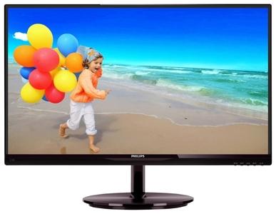 "21,5"" Philips 224E5QHSB 1920x1080 AH-IPS W-LED 16:9 5ms VGA 1xHDMI 1xHDMI+MHL 10M:1 178/178 250cd Black."