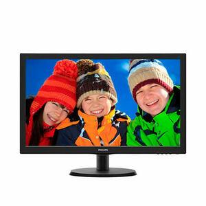 "21,5"" Philips 223V5LSB 1920x1080 TN LED 16:9 5ms VGA 10M:1 170/160 250cd Glossy-Black"