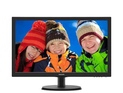 "21,5"" Philips 223V5LHSB2 W-LED TN 1920x1080 16:9 5ms VGA HDMI 20M:1 90/60 250cd Black"