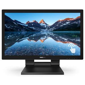 "21,5"" Philips 222B9T 1920х1080 TN W-LED 16:9 SmoothTouch 1ms VGA DVI-D HDMI DP 2xUSB3.0 50M:1 170/160 250cd Tilt HAS Speakers Black"