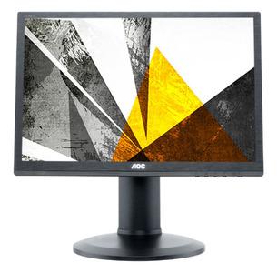 """19"""" AOC I960PRDA 1920x1024 IPS 75Гц WLED 5:4 5ms VGA DVI 50M:1 178/178 250cd Speakers Has Pivot Swivel Tilt Black"""