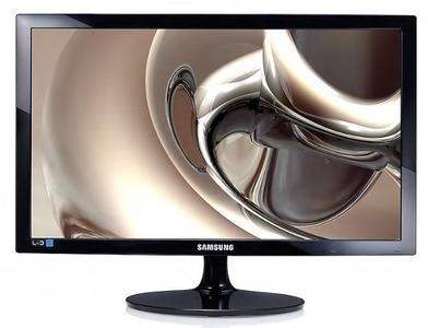 """Samsung 24"""" S24D300H TN LED 16:9 1920x1080 2ms 250cd 1000:1 170/160 D-Sub HDMI External Power Supply Glossy Black"""