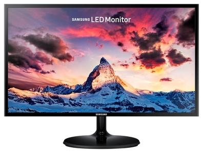 """Samsung 23.5"""" S24F350FHI PLS 16:9 1920x1080 4ms 250cd 178/178 1000:1 D-Sub HDMI внешний б/п Glossy Black"""