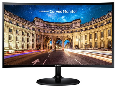 "Samsung 23.5"" C24F390FHI VA LED изогнутый 16:9 1920x1080 4ms 250cd 3000:1 178/178 D-Sub HDMI БП внешний Glossy Black"