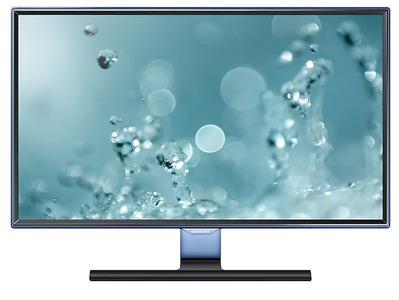 "Samsung 23.6"" S24E390HL PLS LED 16:9 1920x1080 250 cd 1000:1 178/178 5ms D-Sub HDMI External Power Supply Glossy Black"