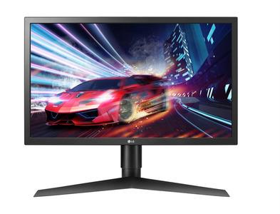 """LG 23.6"""" 24GL650-B LED, 1920x1080, Gaming, 1ms, 300cd/m2, 1000:1 (Mega DCR), 170°/160°, HDMI*2, DP, HAS, Tilt, 144Hz, AMD FreeSync, VESA, Black"""