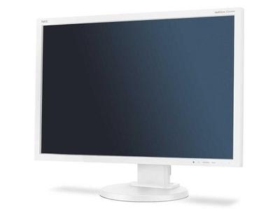 """NEC 24"""" E245WMi LCD S/W (PLS; 16:10; 250cd/m2,1000:1,6ms,1920x1200,178/178, HAS 110mm, Tilt, Pivot; DVI-D,D-sub, DP)"""