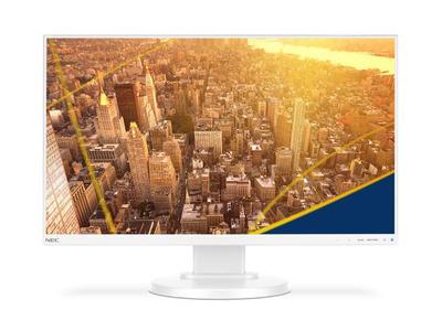 NEC 24'' E241N LCD S/Wh ( IPS; 16:9; 250cd/m2; 1000:1; 6ms; 178/178; 1920х1080; D-sub; HDMI; DP; HAS 110 mm; Tilt; Swiv 45/45; Pivot, Spk 2х1W; тонкая рамка 1мм)