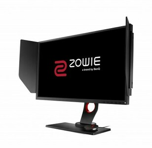 "BENQ 25"" XL2540 Zowie 240Hz TN W-LED 16:9 1920x1080 1ms 400cd/m2 12M:1 170/160 DVI 2*HDMI DP USB3.0 вход для наушников и микрофона HAS Pivot Tilt Swivel Black-Red"