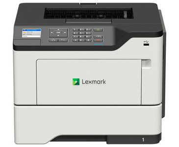 Lexmark Single function Laser MS621dn ( A4, 47 ppm, 512 Mb, 1 tray 250, USB, Duplex, Cartridge 6000 pages in box, 1y warr. )