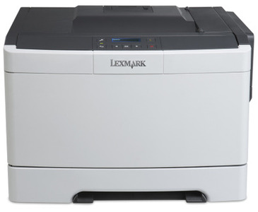 Lexmark Singlefunction Color Laser CS317dn ( A4, 23 ppm, 256 Mb, 1 tray 150, USB, Duplex, Cartridge 2300+3000 pages in box, 1y warr. )