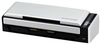 Fujitsu scanner ScanSnap S1300i (CIS, A4, long document to 863 mm, 600 dpi, 12 ppm/24 ipm, ADF 10 sheets, Duplex, powered by AC/USB, Windows+Mac, 1 y warr)