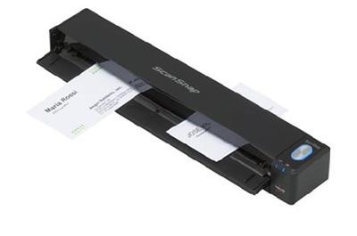 Fujitsu scanner ScanSnap iX100 (mobile, CIS, A4, long document to 216x863 mm, 600 dpi, 12 ppm, powered by USB, Wi-Fi, Windows+Mac, 1 y warr)