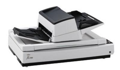 Fujitsu scanner fi-7700S (flatbed, CCD, A3, 600 dpi, 58 ppm, ADF 300 sheets, USB 3.0, Duplex, 1 y warr)