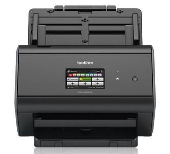 Документ-сканер Brother ADS-2800W, A4, 30 стр/мин, 512Мб, цветной, дуплекс, DADF50, сенс.экран, WiFi, USB, FineReader Sprint