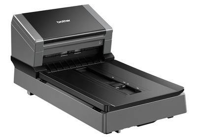 Профессиональный планшетный документ-сканер Brother PDS-6000F, A4, 80 стр/мин, 512 МБ, цветной, дуплекс, DADF100, USB
