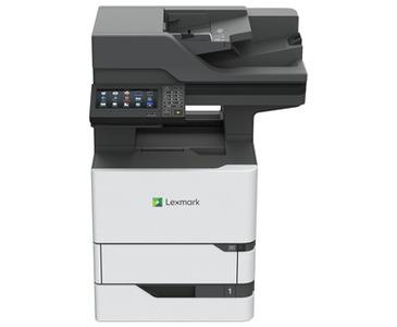 Lexmark Multifunction Mono Laser MX722ade (p/c/s,f, A4, 66 ppm, 2048 Mb, 2trays 550 +100, USB/GigEth, Duplex,DADF , Cartridge 11 000 pages in box, 1y warr.)