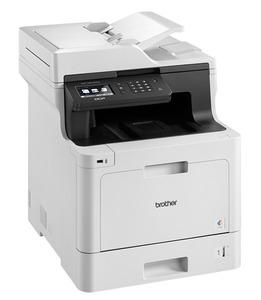 Brother DCP-L8410CDW (P/C/S/, цветной лазерный, A4, 31стр/мин, 512Мб, Duplex, ADF50, GigaLAN, WiFi, USB (старт.тонери 3000/1800стр)(МФУ)