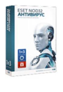 ESET NOD32 Антивирус + Bonus + расширенный функционал - универсальная лицензия на 1 год на 3ПК или продление на 20 месяцев