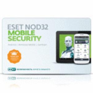 ПО Eset NOD32 NOD32 Mobile Security 3 устройства 1 год Base Card