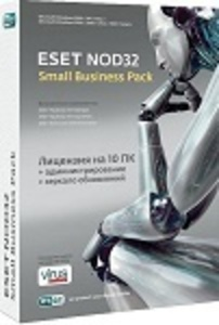 ESET NOD32 Small Business Pack newsale for 10 user.