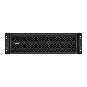 APC Smart-UPS SRT RM battery pack, Extended-Run, 192V bus voltage, Rack 3U, compatible with Smart-UPS SRT RM 8 -10kVA, Black